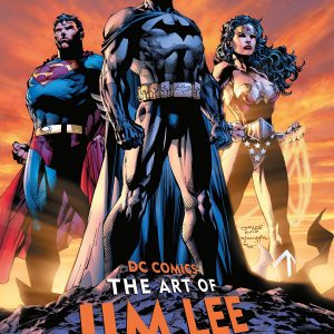 DC Comics the art of Jim Lee