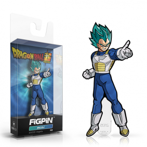 Dragon Ball Super SSGSS Vegeta Mini FiGPiN M2